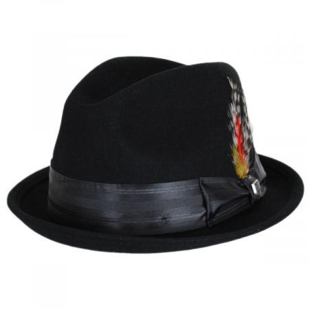 Brixton Hats Fender Mustang Wool Felt Fedora Hat