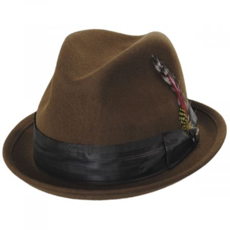 Fender Mustang Wool Felt Fedora Hat alternate view 5