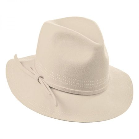 Brixton Hats Nora Wool Felt Fedora