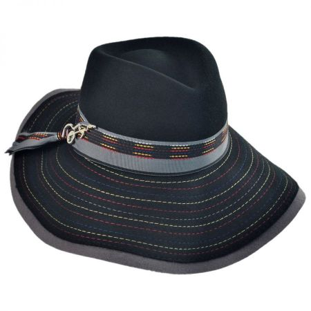 Carlos Santana Halley Fedora Hat