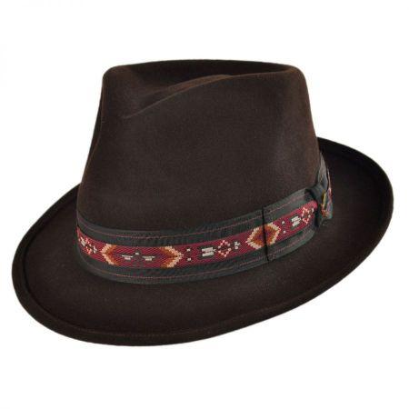 Wisdom Fur Felt Fedora Hat