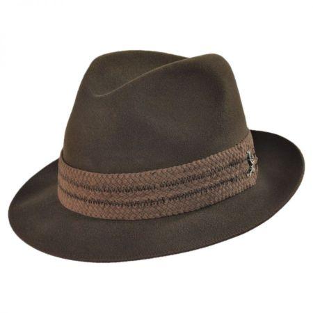 Carlos Santana Abraxas Fur Felt Fedora Hat