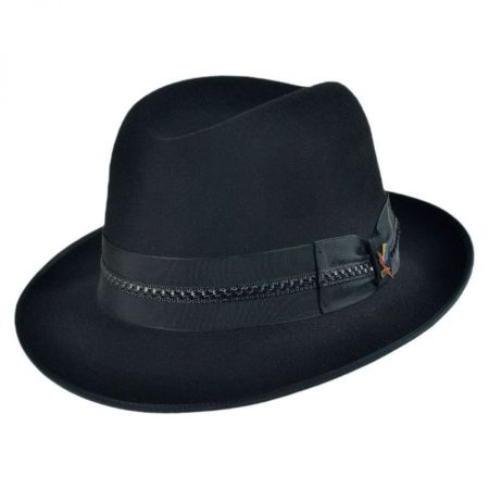 Carlos Santana Essential Fur Felt Fedora Hat
