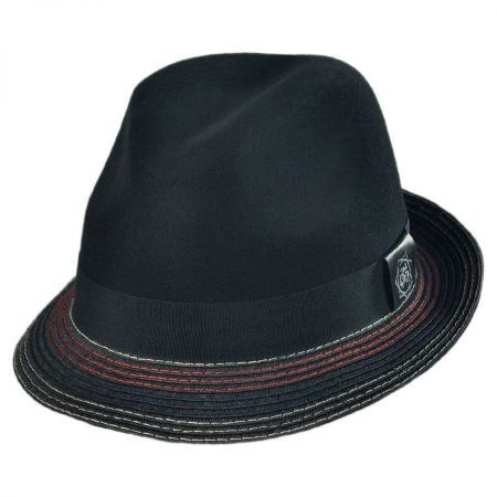 Carlos Santana Orion Braided Fedora Hat