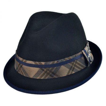 Carlos Santana Regal Wool Felt Fedora Hat