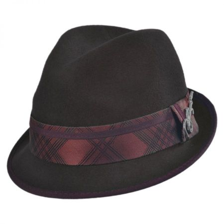 Carlos Santana Regal Wool Felt Fedora Hat