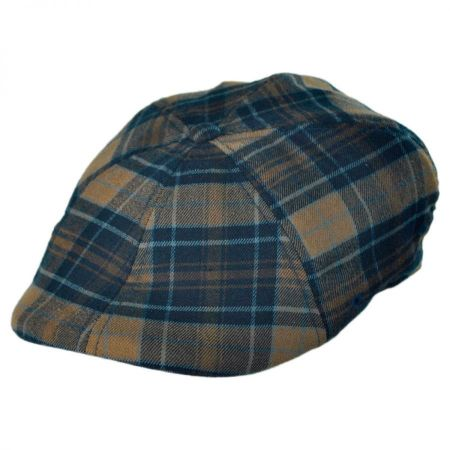 Kangol Game Plaid 504 Ivy Cap