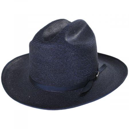 Open Road Hemp Braid Western Hat