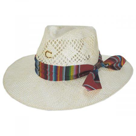 Fiesta Straw Fedora Hat