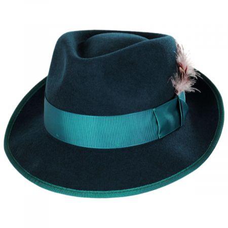Conor Wool Felt Fedora Hat