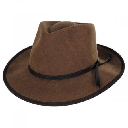 Roswell Wool Felt Fedora Hat
