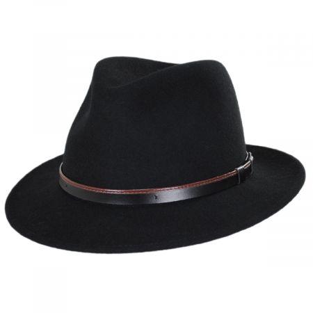 Bigalli Seattle Wool Felt Fedora Hat