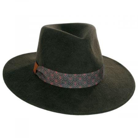 Gypsy Wool Felt Fedora Hat