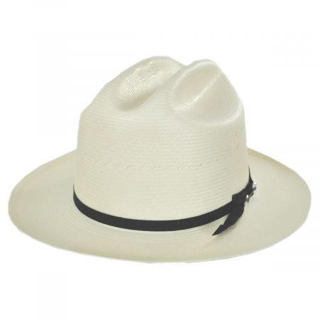 Open Road 200X Shantung Straw Western Hat alternate view 13
