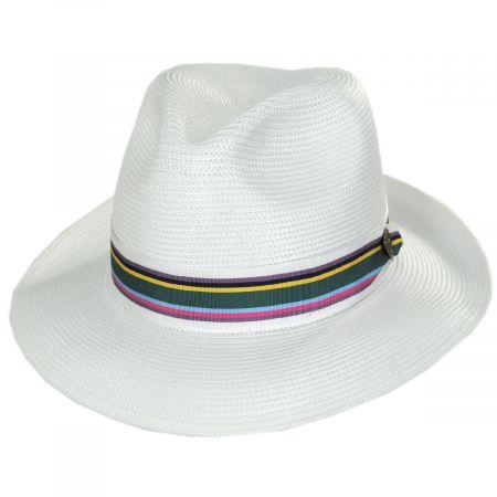 Spring Fever Milan Straw Fedora Hat