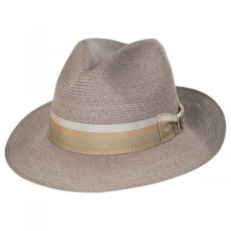 Side Eye Hemp Straw Fedora Hat alternate view 5