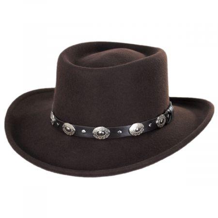 Western Wool Felt Gambler Hat alternate view 13