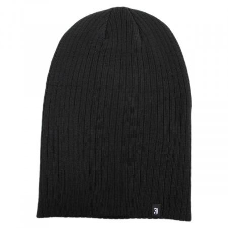 B2B Jaxon Oversized Ribknit Beanie Hat