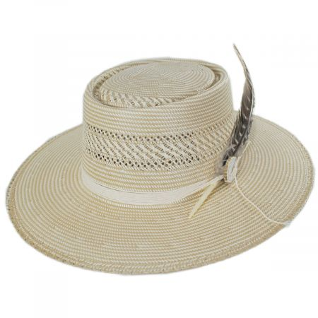 Batterson Shantung Straw Gambler Hat alternate view 6