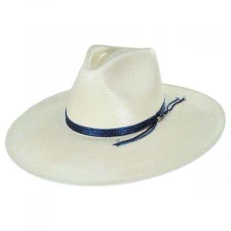 Hardrock G Shantung Straw Western Hat