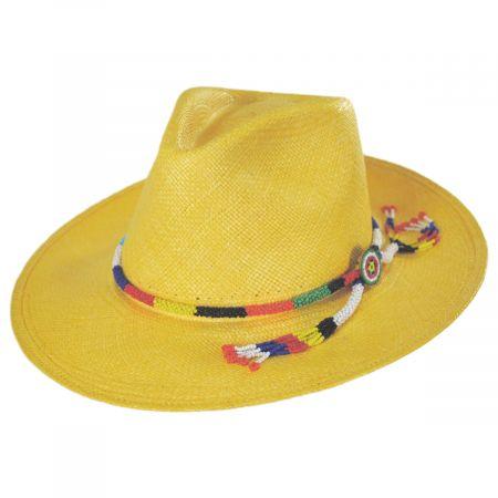 Argonaut Panama Straw Fedora Hat alternate view 14