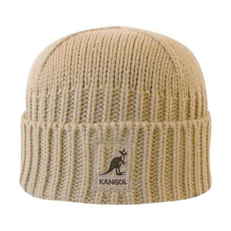 Kangol Fully Fashioned Cuff Pull-On Knit Beanie Hat