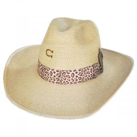 Charlie 1 Horse Wild Thing Palm Straw Western Hat