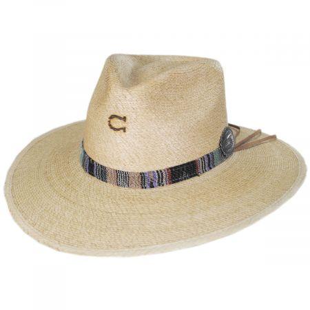 Charlie 1 Horse Saltillo Palm Straw Fedora Hat