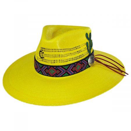 Mariachi Toyo Straw Fedora Hat