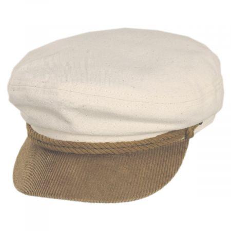 Brixton Hats 2-Tone Cotton Fiddler's Cap