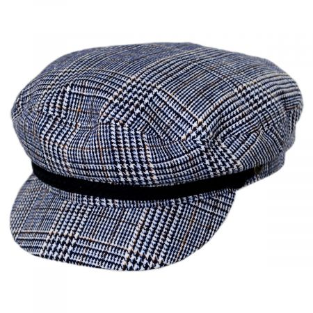 Tweed Blue Fiddler's Cap alternate view 9
