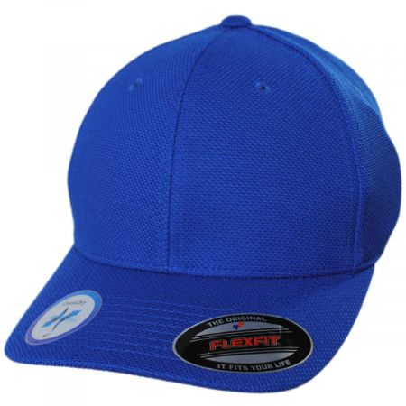Cool and Dry Pique Mesh Fitted Baseball Cap alternate view 5