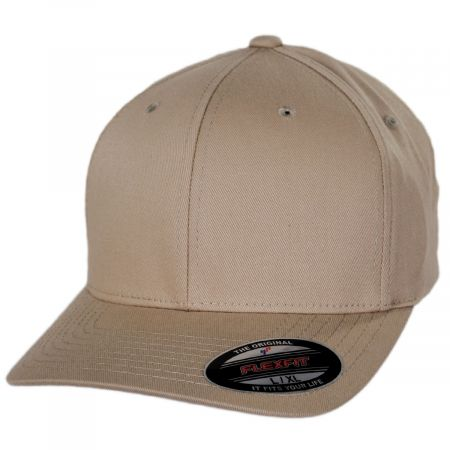 Combed Twill MidPro FlexFit Fitted Baseball Cap alternate view 7