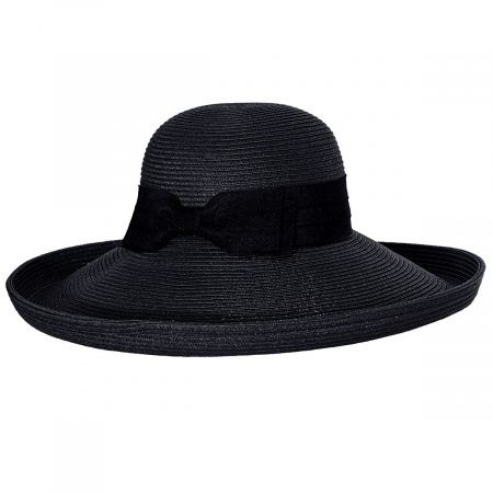 Toucan Collection Packable Kettle Edge Toyo Straw Lampshade Hat
