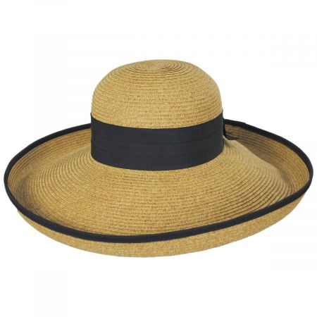 Packable Kettle Edge Toyo Straw Lampshade Hat alternate view 2