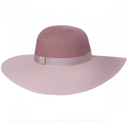 Two-Tone Toyo Straw Floppy Brim Sun Hat alternate view 5