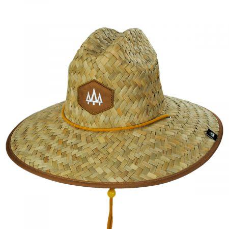Hemlock Hat Co Adobe Straw Lifeguard Hat