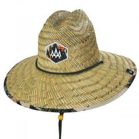 Hemlock Hat Co Base Camp Straw Lifeguard Hat