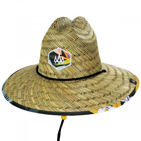 Hemlock Hat Co Bermuda Straw Lifeguard Hat