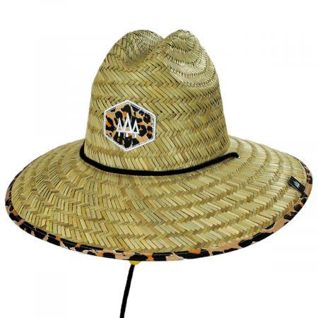 Hemlock Hat Co Big Cat Straw Lifeguard Hat