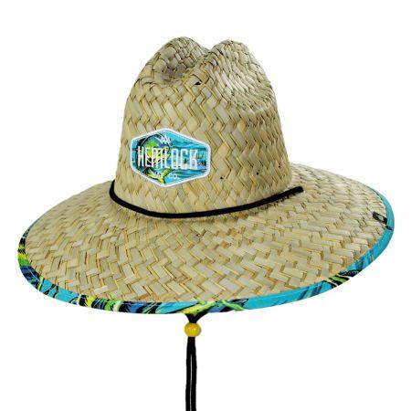 Hemlock Hat Co Dorado Straw Lifeguard Hat