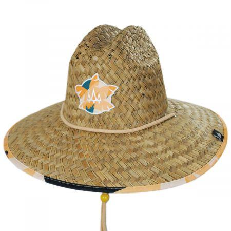 Hemlock Hat Co Grandview Straw Lifeguard Hat