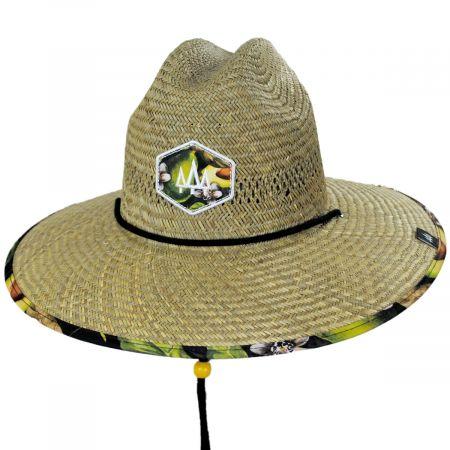 Hemlock Hat Co Grove Straw Lifeguard Hat