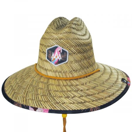 Hemlock Hat Co Rio Straw Lifeguard Hat