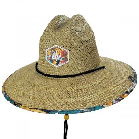 Sumatra Straw Lifeguard Hat