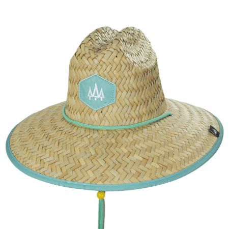Wasabi Straw Lifeguard Hat