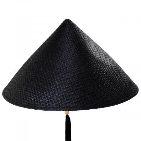 Toyo Straw Pyramid Sun Hat