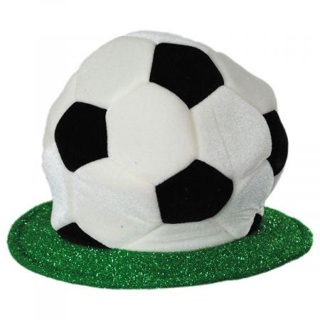 Soccer Ball Plush Hat