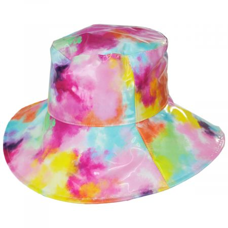 Vibrante Vinyl Rain Bucket Hat alternate view 5