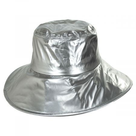 Peta Vinyl Rain Bucket Hat